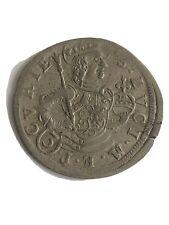 Swiss Cantons: CHUR 3 Kreuzer Silver 1732, St Lucius KM#268