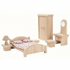 Plan Toy Doll House Bedroom - Classic Style From Japan
