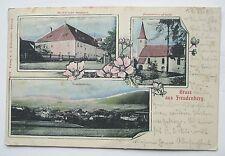 2. Gruss aus Freudenberg, b. Amberg -Sulzbach-Rosenberg, Mehrbild-Karte,gel.1906