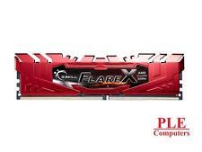 G.Skill 16GB (2x8GB) DDR4 Flare X C15 2400MHz (For AMD)[F4-2400C15D-16GFXR]