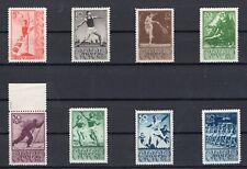 RUSSIA, SOVIET UNION, 1938, SC 698-704, MI 657-64, SPORT, MNH