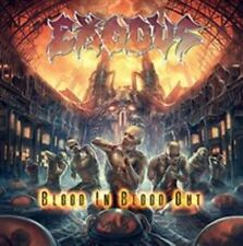 Blood In, Blood Out [Deluxe] by Exodus (CD, Oct-2014, 2 Discs, Nuclear Blast)