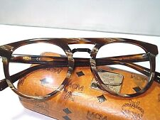 NEW MCM AUTHENTIC EYEGLASSES 2626A BROWN HORN HAVANA 232 with MCM CASE