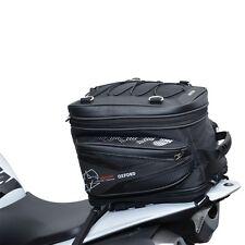 Oxford T40R Motorcycle Tail Bag Black OL325 Lifetime Luggage