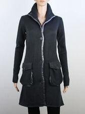 Button Wool Blend Regular Long Jumpers & Cardigans for Women