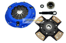 FX 4-PUCK STAGE 3 CLUTCH KIT FOR 1990-1991 HONDA CIVIC CRX Si 1.5L SOHC DX LX