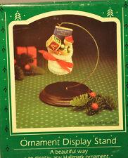 Hallmark - Ornament Display Stand - Solid Wood Base - Keepsake Ornament