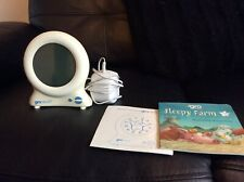 THE GRO COMPANY GLO CLOCK WITH INSTRUCTIONS AND STORY  BOOKLET TEACHING AID