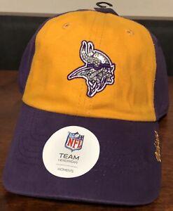 Minnesota Vikings NFL Women's Sequin Sparkle Adjustable Purple Hats