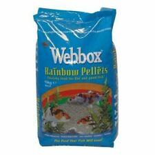 Webbox Rainbow Pellets for Koi and Pond Fish 10Kg