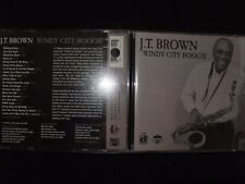 CD J.T BROWN / WINDY CITY BOOGIE /