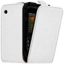Housse Coque Etui de Protection Couleur Blanc pour Blackberry Curve 8520