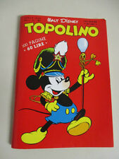 Italian edition  Disney TOPOLINO # 1 Mickey Mouse  Rare Reissue