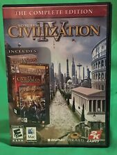 Civilization IV 4: The Complete Edition ~ Mac CD Rom Game ~ Macintosh Computer