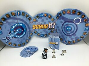 Scene it? Disney Channel Replacement Parts Cards Board Die Tokens PARTS ONLY