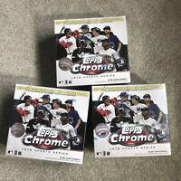 2020 Topps MLB Chrome Updates Baseball Trading Card Mega Box lot of 3