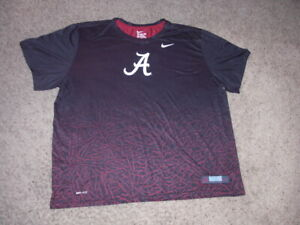 ALABAMA Nike authentic Dri Fit athletic shirt men's 3XL