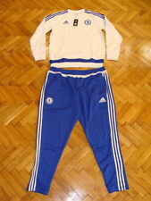 Chelsea Soccer Tracksuit Top Climacool Pants Adidas Football Training Suit NEW