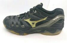 Mizuno Wave Rally Women's Size 8.5 Volleyball Shoes Training Running Black