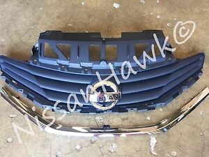 NEW OEM NISSAN VERSA NOTE 2014-2016 FACTORY GRILLE ASSEMBLY - WITH NEW EMBLEM