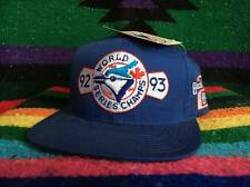 NWT Vintage Toronto Blue Jays Snapback Hat Autographed by Mike Timlin 1992 1993