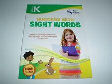Sylvan Language Arts Workbooks Series Kindergarten Success with Sight Words New