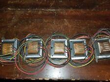 5 New NOS Universal Output Transformers MI-12368 Tube Amp,Radio 4,8,16 Ohms