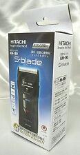 Hitachi Official Portable Men's shaver RM-180 B black 100 - 240 V Japan F/S