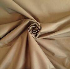 10 Metres Designer  Prestigious  Sandstone Gold Faux Silk Curtain Fabric