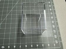 "Acrylic Plastic Display Box Case 4.5"" H x 3.5"" x 3.5"" with cap"