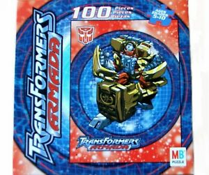 Transformers Armada Hot Shot Puzzle 100 Pieces made in 2002