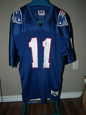 VTG APEX ONE DREW BEDSOE 11 NEW ENGLAND PATRIOTS SCREENED JERSEY SZ XL