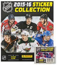 2015-16 Panini NHL Hockey Sticker Album