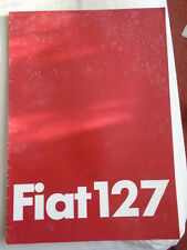 Fiat 127 brochure c1970's German text 127L & 127 CL