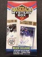 2020 Baseball Mystery Blaster Box Meijer Exclusive Juan Soto Luis Robert Auto?