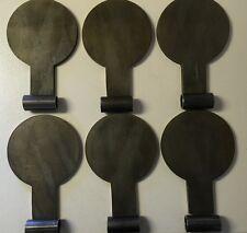 """AR500 Dueling Paddles Steel Target 6 plate kit- 6"""" (Short) Bullseye Metals Video"""