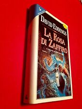 David EDDINGS - LA ROSA DI ZAFFIRO 3° Libro Elene 1° Ed Sperling & K 1993 nuovo