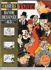 CAHIERS DE LA BANDE DESSINEES.N°63. DOSSIER TARDIGOOSSENS.LITTLE NEMO.MOUMINOUX