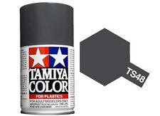 Tamiya 85048. Spray TS-48. Pintura esmalte color Gris Helicoptero