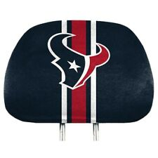 NFL HOUSTON TEXANS PRO MARK HEAD REST COVER SET OF 2 UNIVERSAL SIZE STRIPED