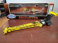 1995 Ernie & Ercie Hill Pennzoil DUAL Trackside AUTOGRAPHED 1:24 NHRA Dragster
