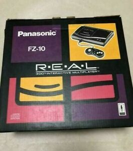 3DO REAL FZ-10 Console System Boxed Panasonic