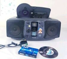 Philips AZ8040 CD ghettoblaster boombox stereo with power cable