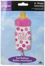 AMSCAN 2680101 - Folienballon - Baby Flasche It's a girl