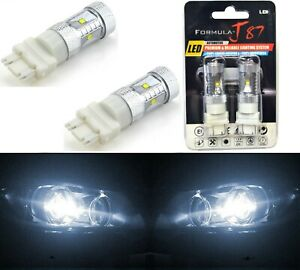 LED Light 30W 3157 White 5000K Two Bulbs DRL Daytime Running Replacement Lamp OE