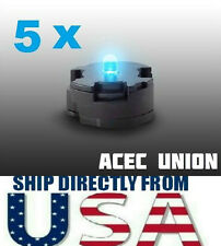 5 X High Quality MG 1/100 QANT Raiser Gundam BLUE LED Lights - U.S.A. SELLER