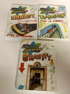 The Science of Disney Imagineering DVD Lot - Gravity, Trajectory, Energy EUC