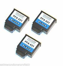 3x Tintenpatrone für Philips PFA 431, PFA431, PFA-431 kompatibel