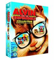Alvin and the Chipmunks Triple Pack [Blu-ray] [2007] [DVD][Region 2]