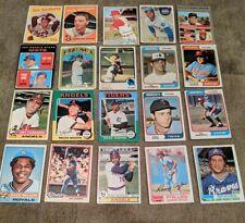 Vintage Baseball Card Lot (20) #124 1959-1983 topps '70 Gibson '72 Yaz '73 Blue